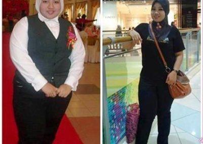 from 110kg to 70kg testimoni alsd2